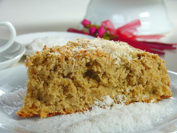Back Rezept Fur Exotischen Kokos Ananas Kuchen Ohne Zucker Und Ohne